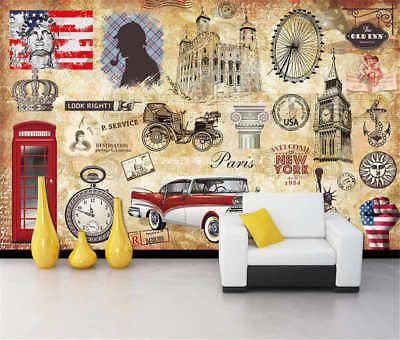 Age Of Electricity Full Wall Mural Photo Wallpaper Printing 3D Decor Kid Home