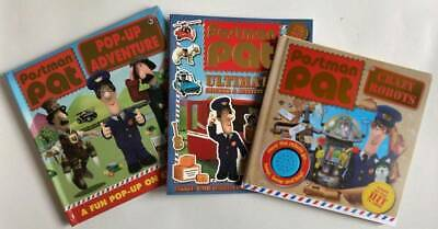Postman Pat A Letter From Pat Pop-up Adventure & Sticker set of 3 Books Ages 2+