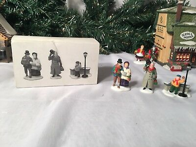 New Department 56 Heritage Village Series A Christmas Carol Morning #5588-3