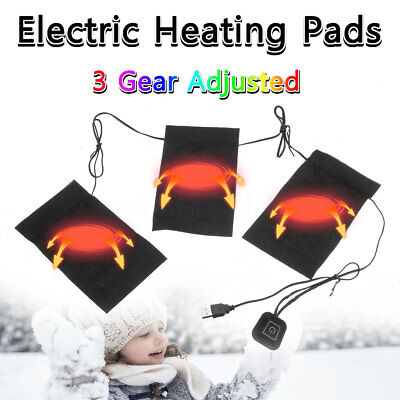 Electric Heating Pad 3 Gear Adjusted Temperature DIY Thermal Vest Heated Jacket