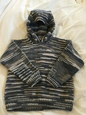 Hand Knitted Hoodie - To Fit 2 - 3 Year Old? Check Measurements