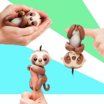 2017 New Fingerlings Sloth Electronic Interactive Finger Pet Toys Baby Xmas Gift