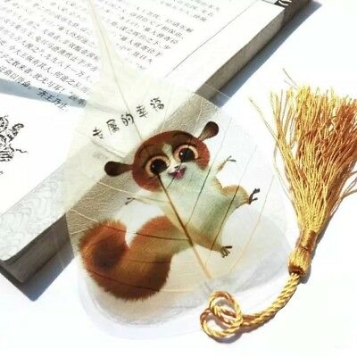 Artistic 100% Real Leaf Veins Bookmark Best Gift for her and him