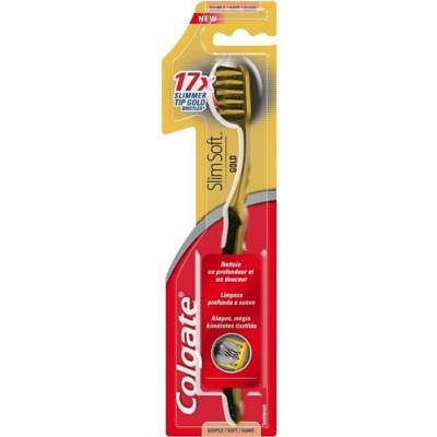 COLGATE Brosse a dents Slimsoft Gold