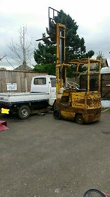 Coventry Climax  Electric Forklift Fork Lift with charger working and useful
