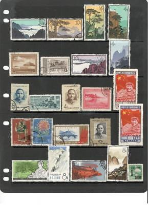 jo28 China PRC stock page 23 stamps mixed condition