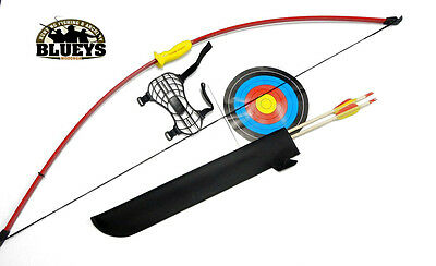 Perfect line Recurve Bow for Kids 48'' Bow, 2 arrows, arm guard, target, quiver