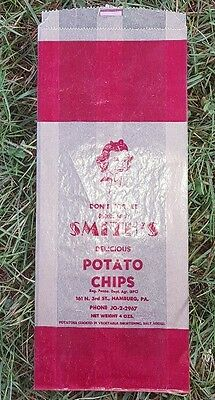 Vintage Smith's Potato Chip Bag Hamburg, Pa