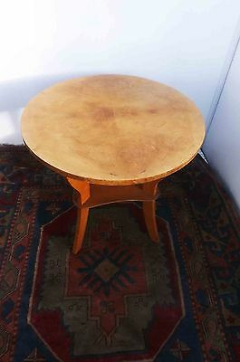 Art Deco Satin wood occasional table