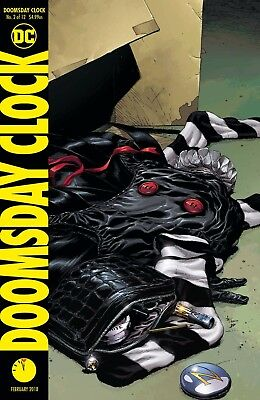 Doomsday Clock #2 (Of 12) - Dc - Release Date 28/12/17