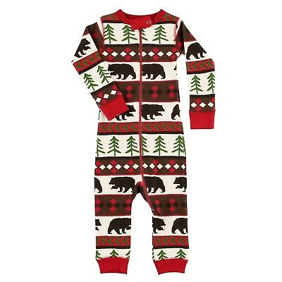 LazyOne Unisex Bear Essentials All-in-One Flapjack Infant