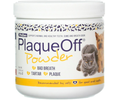 NEW! Plaque Off for Dogs & Cats - 100% All Natural Product - 420g, Pets Health