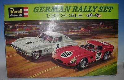 Revell 1/32 Auto-Rennbahn German Rally Set mit 2 Modellen in O-Box #644