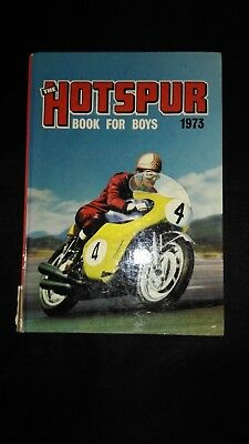 The Hotspur Book For Boys 1973 Vintage Adventure/Action Annual