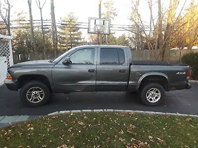 2003 Dodge Dakota Sport- Crew Cab 2003 Dodge Dakota Quad Cab, 4.7L 8Cyl 4WD, works great- not very pretty