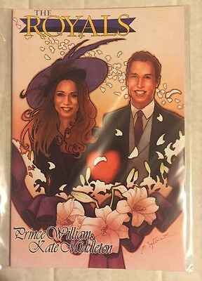 The Royals: Prince William & Kate Middleton - Mini Graphic Novel Nm