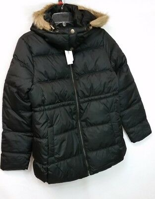 NWT OLD NAVY, Maternity Jacket,Sz Small, Women's BLACK PUFFER FROST FREE Coat