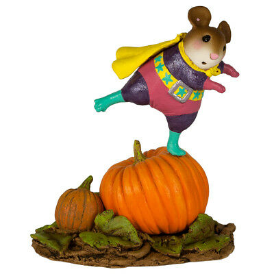 WEE WONDER by Wee Forest Folk,  WFF# M-615a, Super Hero Mouse from 2017