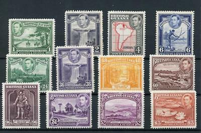 British Guiana 1938-52 set SG308a/19 fine MLH/MM
