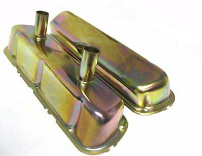 1962 - 1985 Small Block Ford Zinc Circle Track Racing Valve Covers SBF