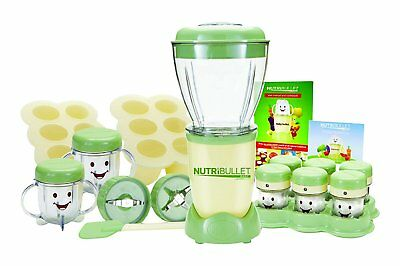 NutriBullet Baby Food Blender with date markers