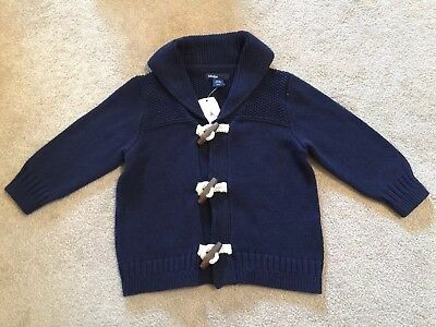 Brand New Baby Gap 12-18 Months Cardigan Jumper Boys / Girls