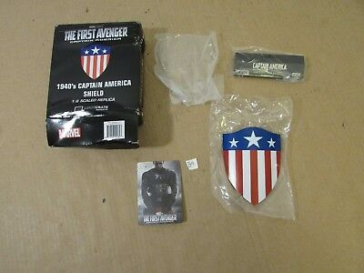 Captain America 1940's Shield Metal Mini Replica Loot Crate Exclusive