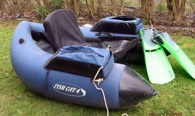 Outcast Cat 4 float tube many extras plus mystery extra