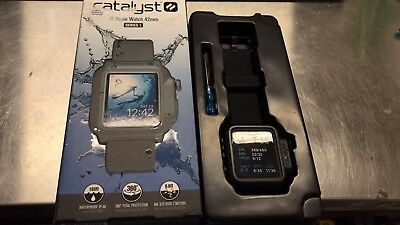 Catalyst - Band and Case for Apple Watch 42mm Series 1 – Stealth Black 47131BBR