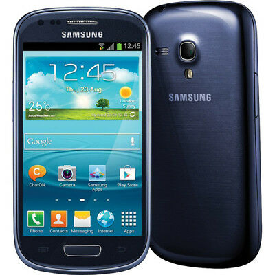 Samsung Galaxy S III Mini GT-I8190 - 8GB - Pebble Blue (Unlocked) Smartphone