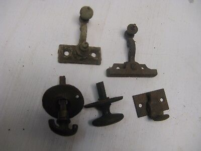 Lot Of 5 Pieces Of Vintage Hardware
