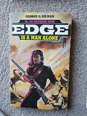 Edge Books No 49: Revenge Ride by George G Gilman