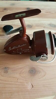 Rare Vintage, Ted Williams 410 Fishing Reel, Made in ITALY, Sears Roebuck and Co
