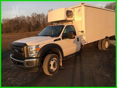 2015 Ford F550 Super-Duty Reefer Service Truck, 3 Refrigerated Compartments