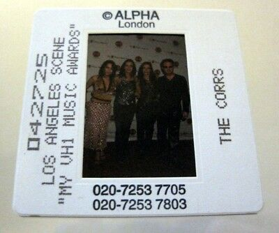 THE CORRS  35mm SLIDE photo Negative PROMO Original from UK Archive #2640