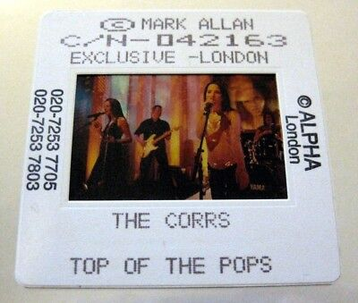 THE CORRS  35mm SLIDE photo Negative PROMO Original from UK Archive #3826