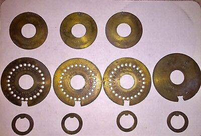 Antique Safe Wheel Pack With Letters (possible MacNeale Urban)