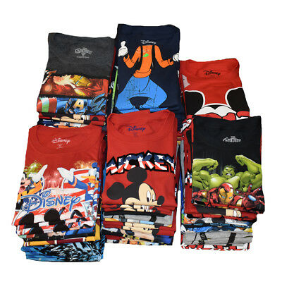 DISNEY Kid's Wholesale Lot  - 2nd Quality Kids T-Shirt - Assorted Mickey Friends