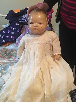 Vintage Baby Doll AM.CHAR.DOLL with Moving Eyes