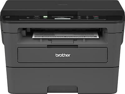 Brother - HL-L2390DW Wireless Black-and-White All-In-One Printer - Gray