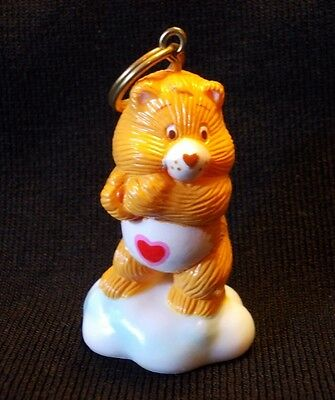 Vintage Care Bears Tenderheart Keychain NEW