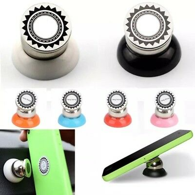 Multicolor Magnetic 360 Sticky Dash Car Cell Phone Mount Holder Retail Universal