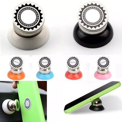 Universal Multicolor Magnetic Sticky Dash Car Cell Phone Mount Holder Retail 360