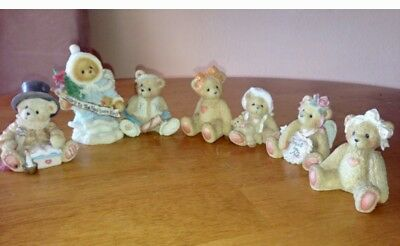 7pc ENESCO Cherished Teddies Collection