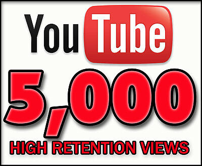 5000+ YOUTUBE-VIEWS & 500+Likes | NO DROP | BEST SELLER USA