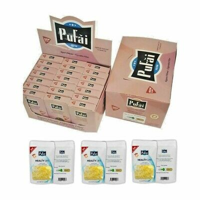 Pufai Super Slim Cigarette Filters Nic Out Holder 1425 Pieces