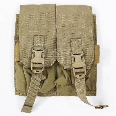 Eagle Industries M-4 Double 2x2 Mag Pouch w/ Buckles 5KH Khaki Tan MOLLE USMC