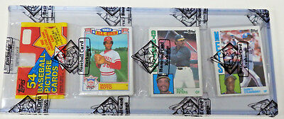 1984 TOPPS BASEBALL UNOPENED RACK PACK BBCE AUTHENTIC SEALED Darryl Strawberry
