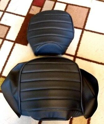 SUZUKI VL1500  INTRUDER 1998-2004 2 Piece Pleated  Custom Made Seat Cover