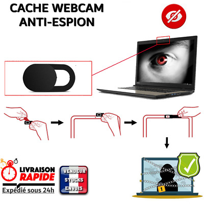 Stickers Cache Webcam Camera protection privée anti espion ordinateur portable